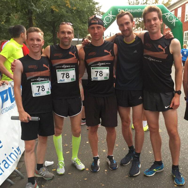 Potsdamer Halbmarathonstaffel 2019