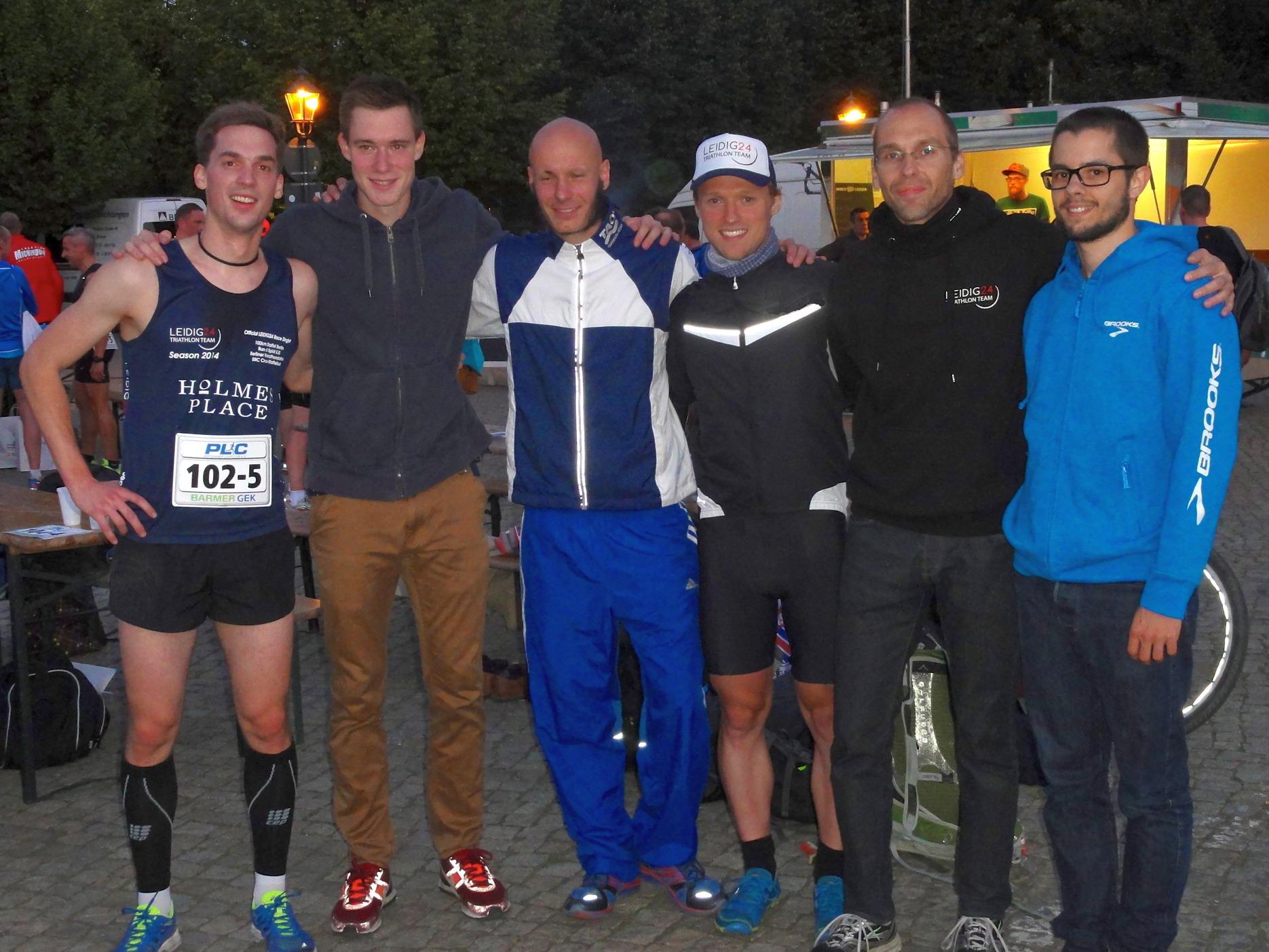 Potsdamer Halbmarathonstaffel 2014