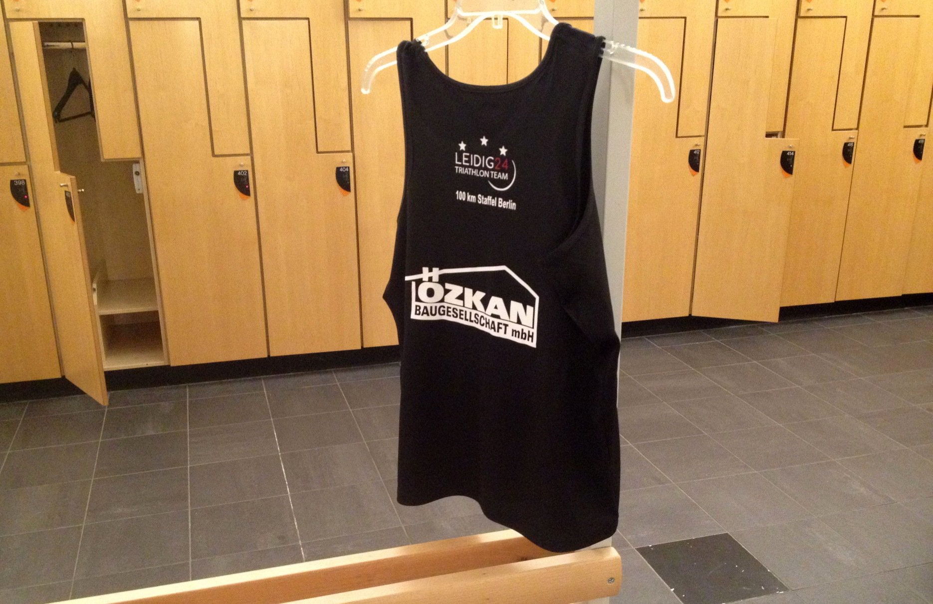 LEIDIG24 Official Race Singlet 2017